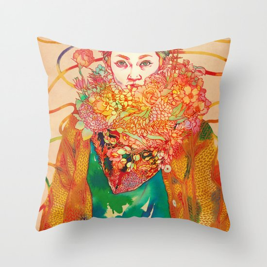 Ryo Throw Pillow