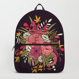 Jungle Bouquet 001 Backpack