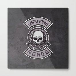 Shooting Roads Metal Print