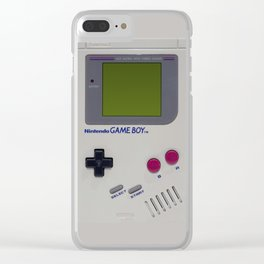 Retro Nintendo Game Boy iPhone case Clear iPhone Case