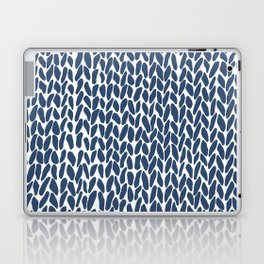 Hand Knit Zoom Navy Laptop & iPad Skin