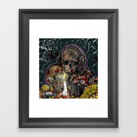 see no, hear no, speak no evil Framed Art Print
