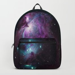 Orion Nebula 2 Ways jewel tones Backpack