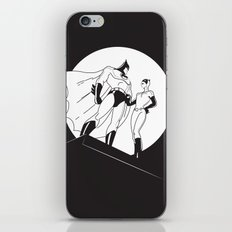 The Night is Dark iPhone & iPod Skin