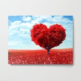 Cosmic love tree 3 Metal Print