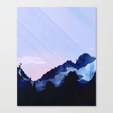 Sunny Rise Canvas Print
