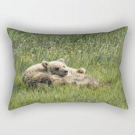 Siblings Make Good Pillows - Bear Cubs 1 Rectangular Pillow
