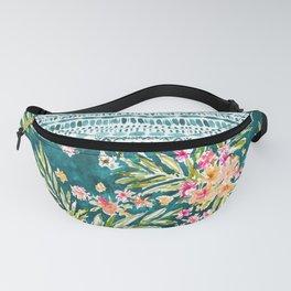 NUEVO VALLARTA Tropical Floral Fanny Pack