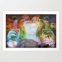 almost famous Art Prints featuring Almost Famous by skela