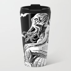 It's the Great Cthulhu! Metal Travel Mug