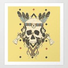 DEAD INJUN Art Print