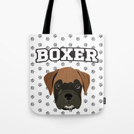 Boxer Love Tote Bag