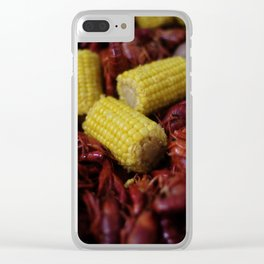 Crawfish Boil Clear iPhone Case