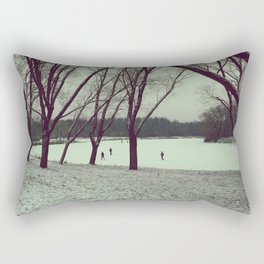 December Rectangular Pillow