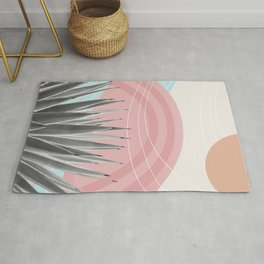 Agave in the Desert Oasis #4 #tropical #wall #art #society6 Rug