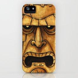 TIKI Frankenstein iPhone Case