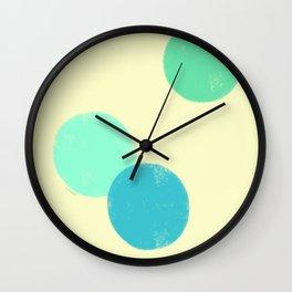 Let's Appreciate Our Shapes no.9 - modern minimalist art Wall Clock