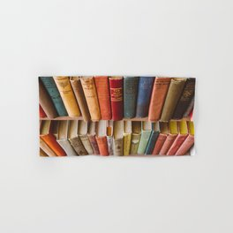 The Colorful Library Hand & Bath Towel