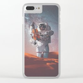 Sahara Violinist Clear iPhone Case