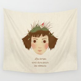 AMELIE POULAIN Wall Tapestry