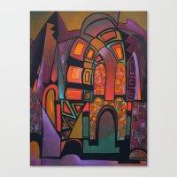 glitter Canvas Prints featuring GLITTER by Deyana Deco