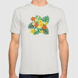Limahuli Garden Hawaiian Floral Design T-shirt