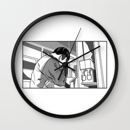 On Hold Wall Clock