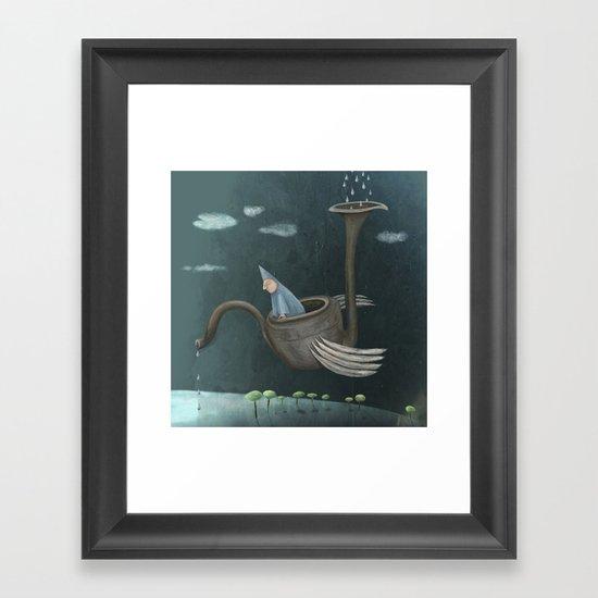 The Flying Machine Framed Art Print