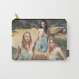 """Sirens (""""Charm of of the Ancient Enchantress"""" Series) Carry-All Pouch"""
