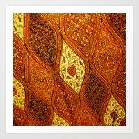 batik Art Prints featuring batik  by customgift
