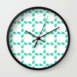 Four-leaft clover Wall Clock