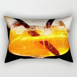 Cheers! Cocktail Drink #decor #society6 Rectangular Pillow