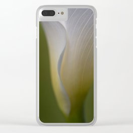 A Flower Waiting Clear iPhone Case