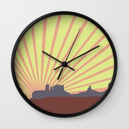 Arizona Drive Wall Clock