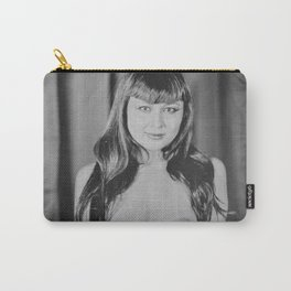 Nude - Paper Moon Tintype Photo Carry-All Pouch
