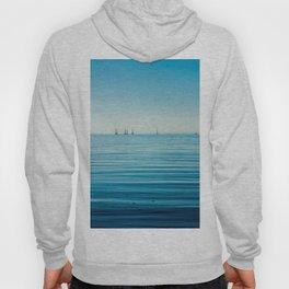 OCEAN - BOATS - WATER - SEA - PHOTOGRAPHY Hoody