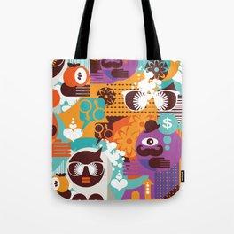 Adam and Eve. Tote Bag