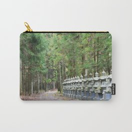 Okunoin Temple Carry-All Pouch