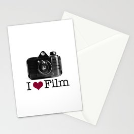 I ♥ Film Stationery Cards
