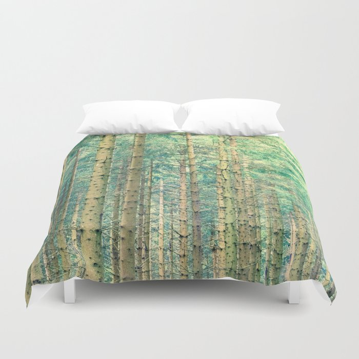 Locked in The Woods #society6 Duvet Cover
