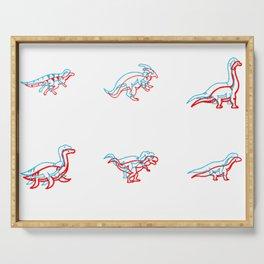 3D Dinos Serving Tray