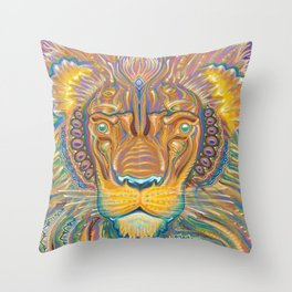 Good Kitten Throw Pillow