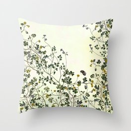 The wilderness continues. Throw Pillow