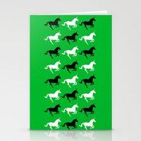 unicorns Stationery Cards featuring Unicorns by Fabian Bross