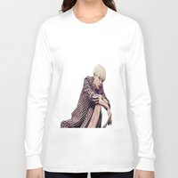 exo Long Sleeve T-shirts featuring EXO Chanyeol Love Me Right by Korean Zombie