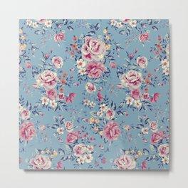 Floral Pattern 5.3 Metal Print