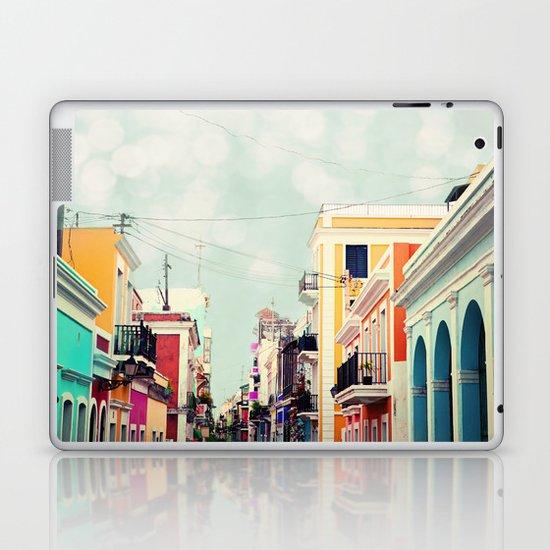 Colorful Buildings of Old San Juan, Puerto Rico Laptop & iPad Skin