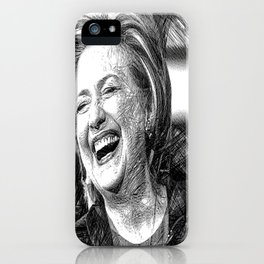 Hillary Clinton iPhone Case
