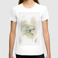 t rex T-shirts featuring T-Rex by BijanSouri