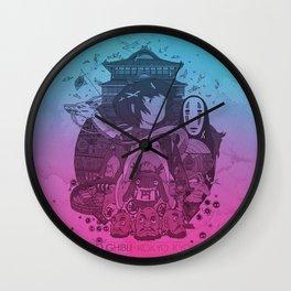 Chihiro's Adventure Wall Clock